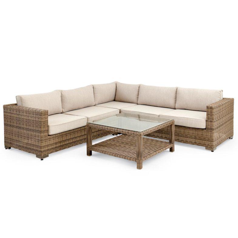 "Плетеная мебель ""Ninja brown"" Lounge Brafab"
