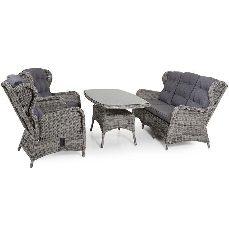 "Плетеная мебель ""Rosita"" grey Brafab"