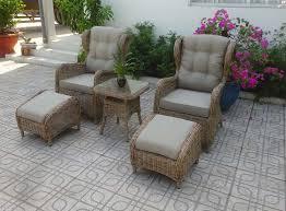 "Плетеная мебель ""Rosita"" natur лаунж Brafab"