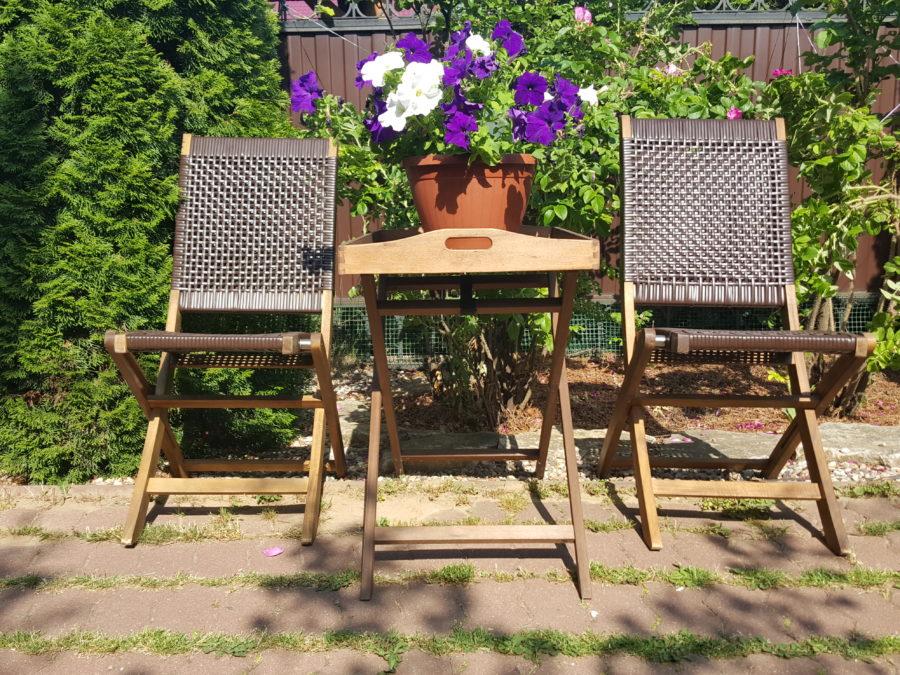 """Плетеная мебель """"Ever ton brown"""" Tea set"""