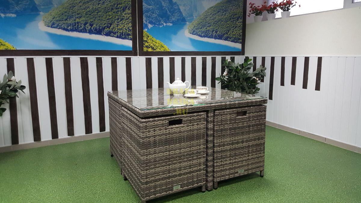 """Плетеная мебель """"Barbados"""" beige"""