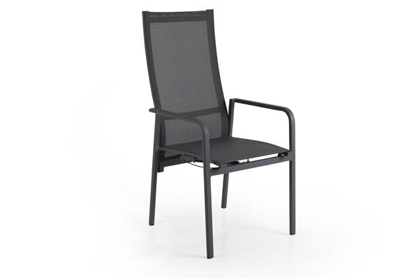 """Кресло садовое """"Renoso"""" grey позиционное Brafab"""