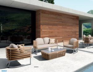 Садовая мебель из дерева комплекты