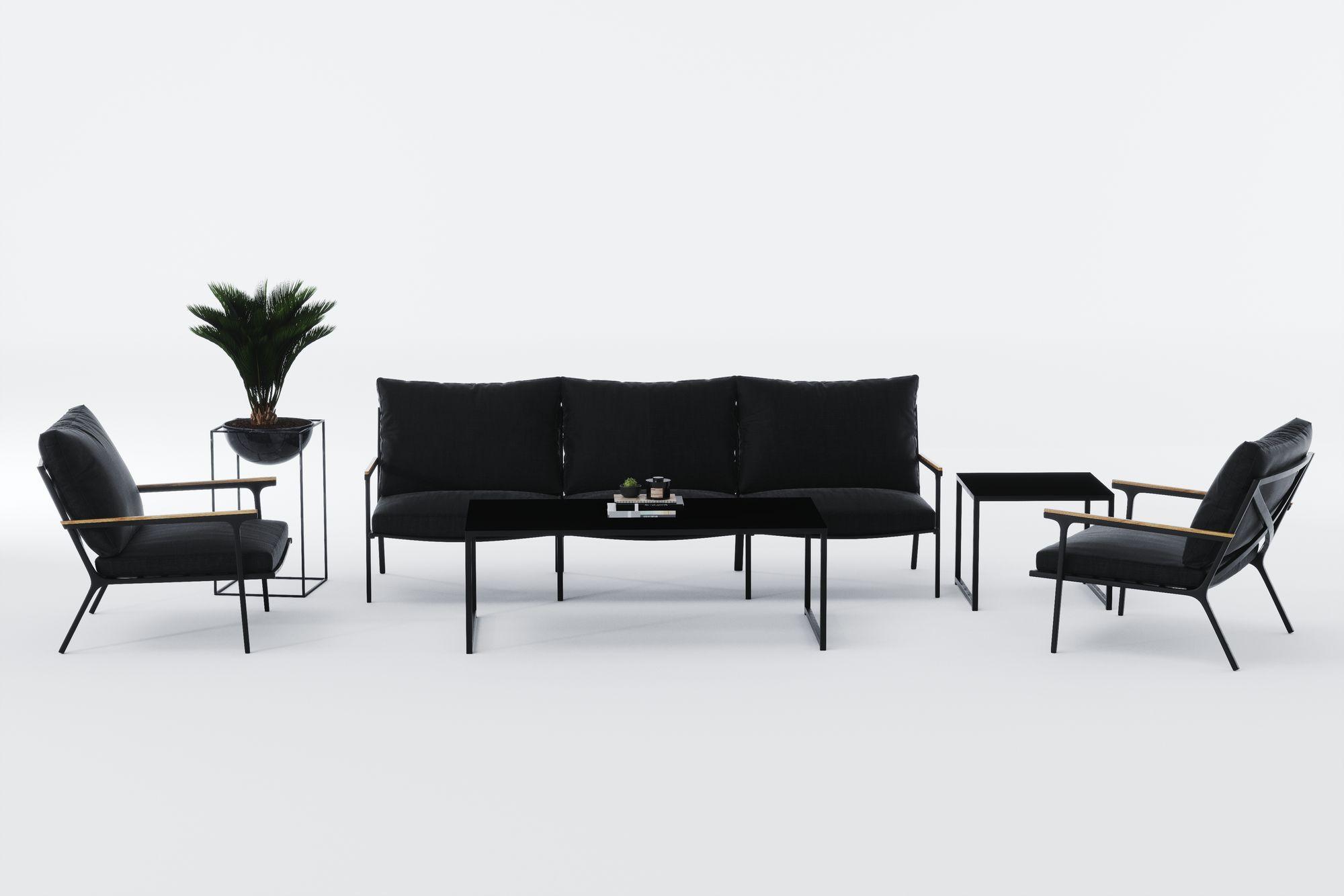 "Садовая мебель ""Calma"" lounge anthracite"