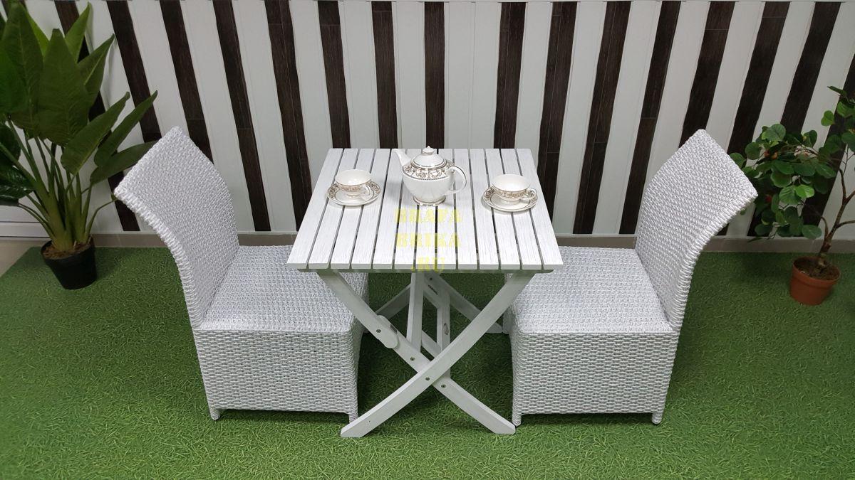 """Плетеная мебель """"Arizona"""" 2 white"""