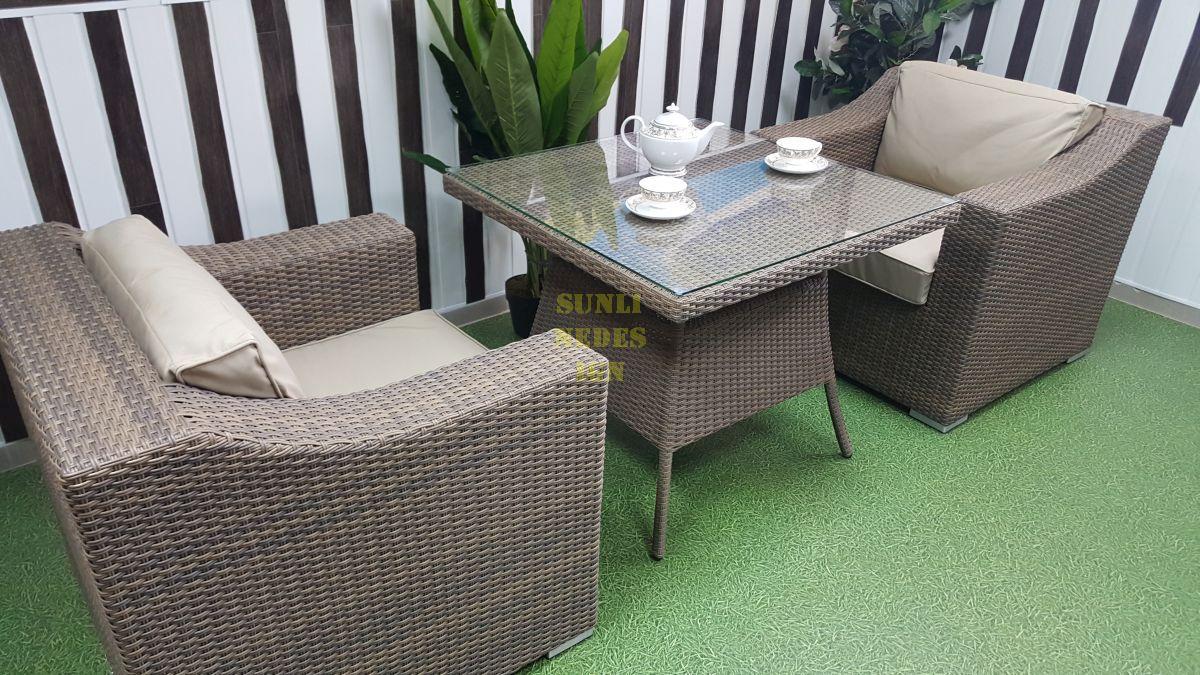 "Плетеная мебель ""Glendon"" dining & cofe"