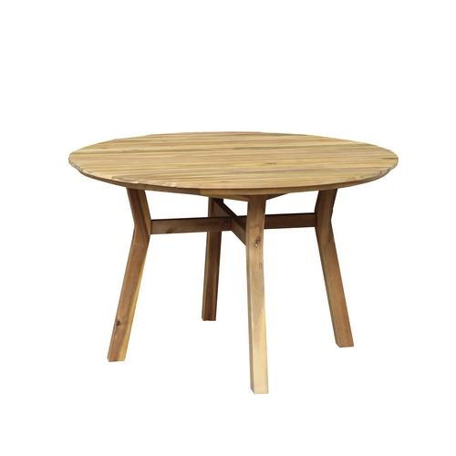 """Садовый стол из акации """"MODENA """" D 116"""