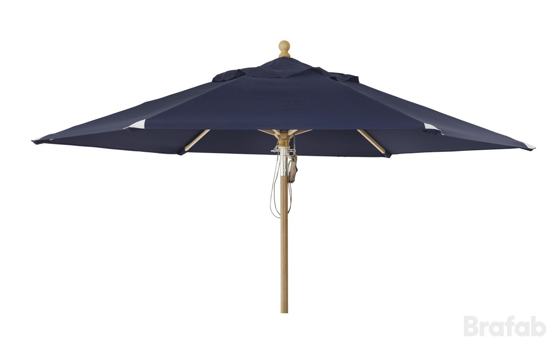 """Зонт садовый """"Parma"""" D350 синий Brafab"""