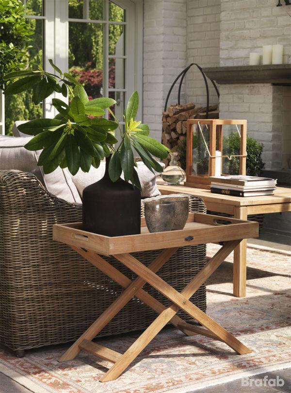 """Стол садовый из тика """"Turin"""" сервировочный"""