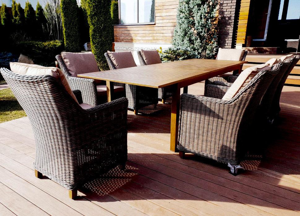 """Плетеная мебель """"Toscana"""" 8 brown"""