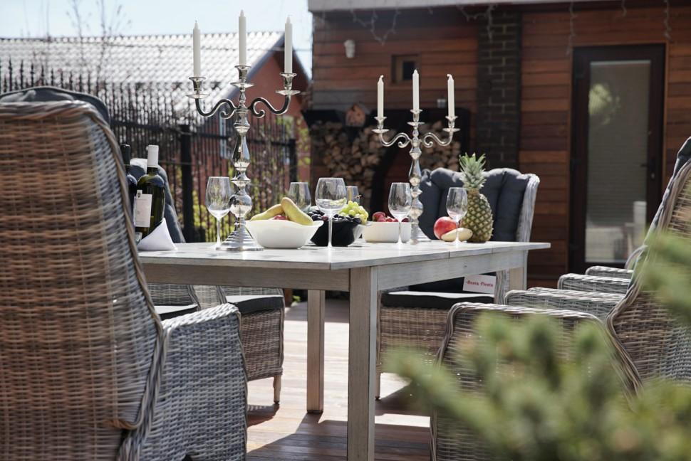 """Плетеная мебель """"Toscana & Verona"""" 6 brown grey"""