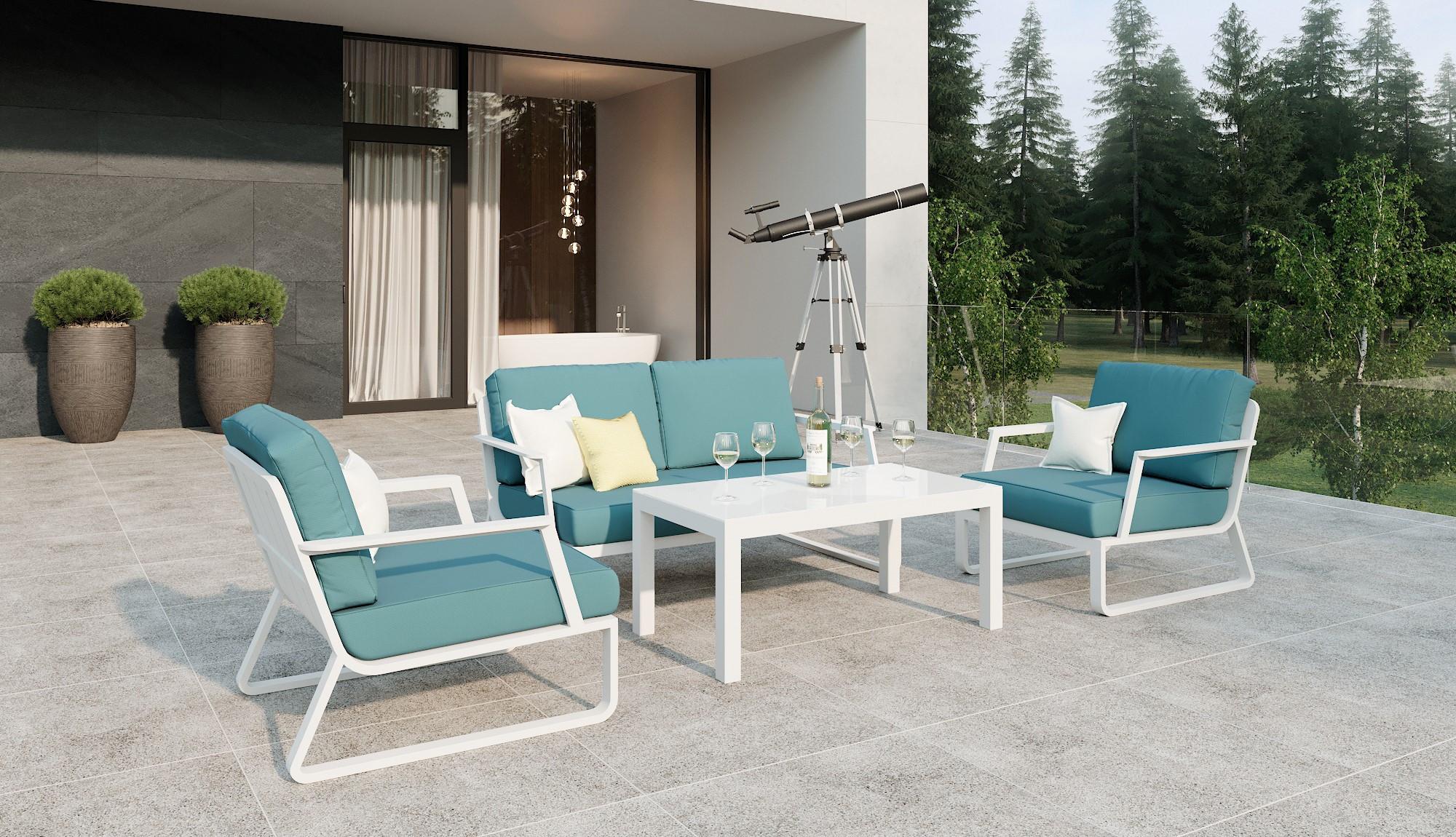 "Садовая мебель ""Voglie"" lounge white"