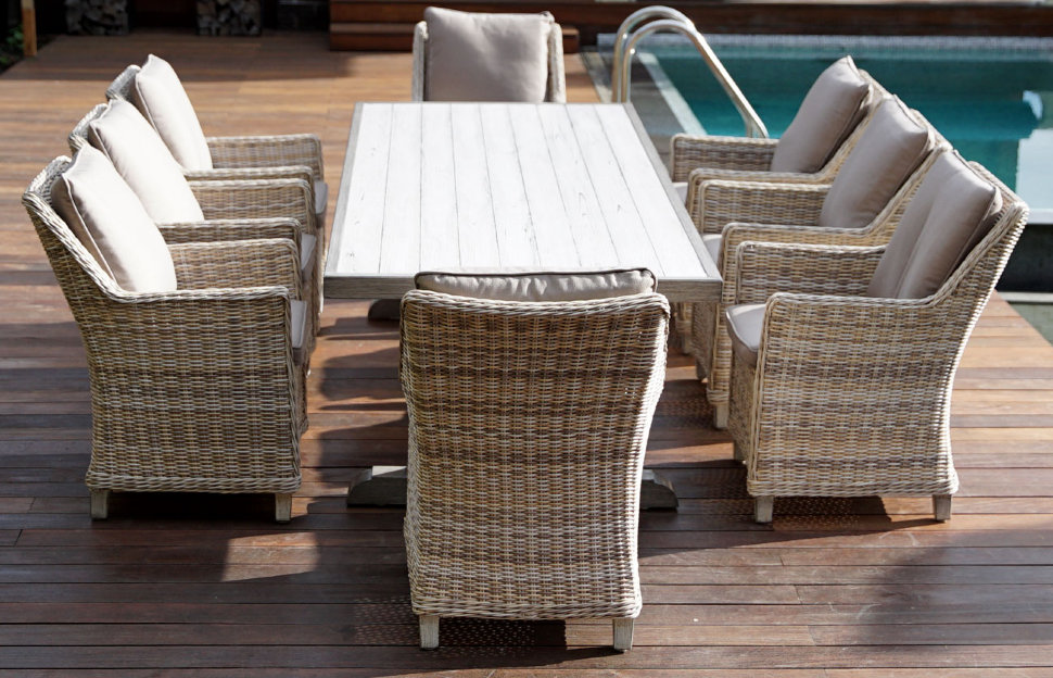 """Плетеная мебель """"Verona & Toscana"""" 250+6"""