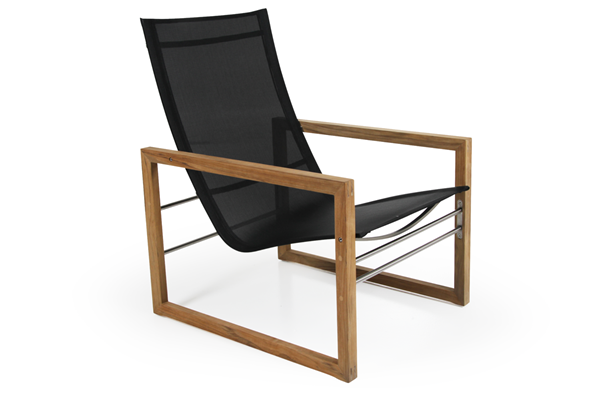 "Кресло садовое из тика ""Vevi"" lounge Brafab"