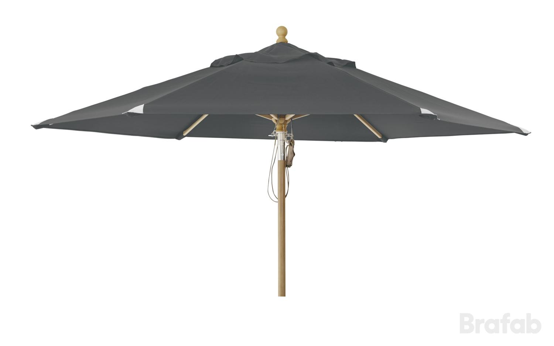 "Зонт садовый ""Parma"" D350 серый Brafab"
