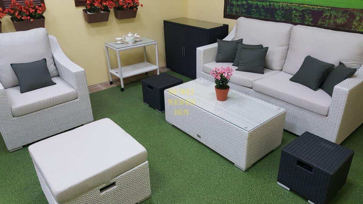 """Плетеная мебель """"Pegas"""" grey"""